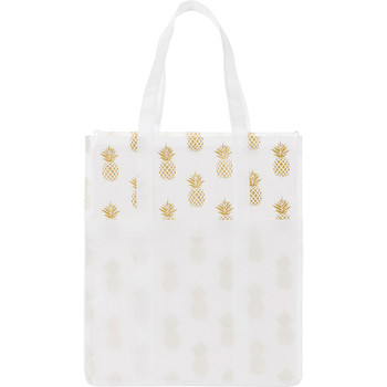 Pineapple Laminated Shopper Tote | Hardgoods.ca