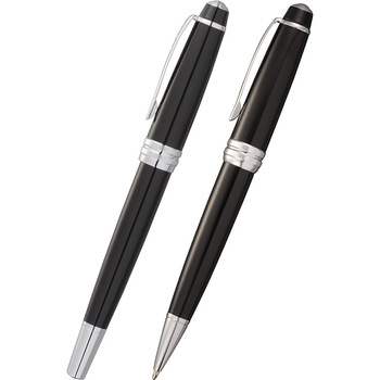 Cross Bailey Black Lacquer Pen Set | Hardgoods.ca