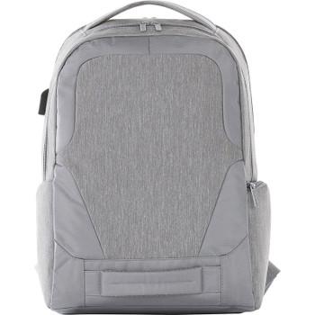 Grey - Overland 17'' TSA Computer Backpack w USB Port | Hardgoods.ca