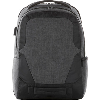 Charcoal - Overland 17'' TSA Computer Backpack w USB Port | Hardgoods.ca