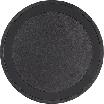 Black on Black - Quake Wireless Charging Pad | Hardgoods.ca