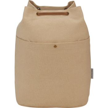 Sand - Field & Co. 16oz Cotton Canvas Convertible Tote | Hardgoods.ca