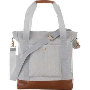 Gray - Field & Co. 16 oz. Cotton Canvas Commuter Tote | Hardgoods.ca