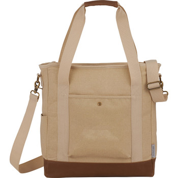 Sand - Field & Co. 16 oz. Cotton Canvas Commuter Tote | Hardgoods.ca