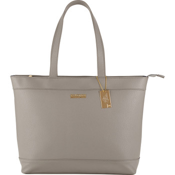 Light Gray - Kenneth Cole Pebbled 15'' Computer Tote | Hardgoods.ca