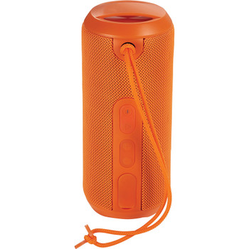 Orange - Rugged Fabric Waterproof Bluetooth Speaker | Hardgoods.ca