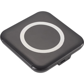 Black - Catena Wireless Charging Phone Stand | Hardgoods.ca