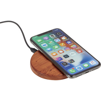Bora Wooden Wireless Charging Pad | Hardgoods.ca