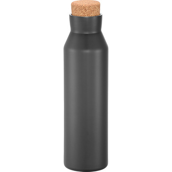 Gray - Norse Copper Vacuum Insulated Bottle 20oz | Hardgoods.ca
