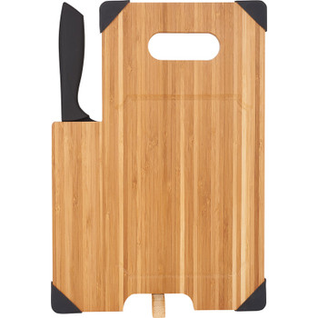 Bamboo Cutting Board with Knife | Hardgoods.ca