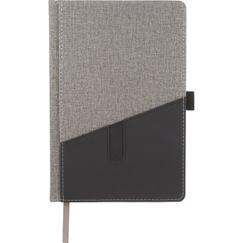 Gray - Siena Heathered Bound JournalBook | Hardgoods.ca