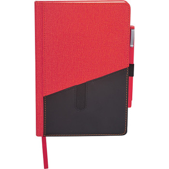 Red - Siena Heathered Bound JournalBook Bundle Set | Hardgoods.ca