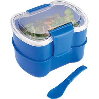 Blue - Mini Two Tier Bento Box | Hardgoods.ca