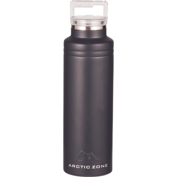 Black - Arctic Zone Titan Thermal HP Copper Bottle 20oz | Hardgoods.ca