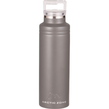 Grey - Arctic Zone Titan Thermal HP Copper Bottle 20oz | Hardgoods.ca