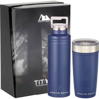 Navy - Arctic Zone Titan Thermal HP Copper Vac Gift Set | Hardgoods.ca