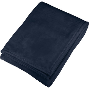 Navy - Oversized Ultra Plush Throw Blanket | Hardgoods.ca