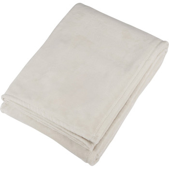 Cream - Oversized Ultra Plush Throw Blanket | Hardgoods.ca