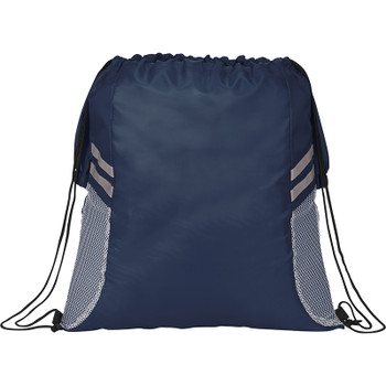 Navy - BackSac Sporty Drawstring Bag | Hardgoods.ca