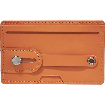 Brown - Vienna RFID Phone Wallet with Strap | Hardgoods.ca