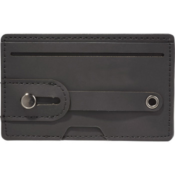 Black - Vienna RFID Phone Wallet with Strap | Hardgoods.ca