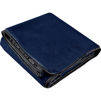 Navy - Oversized Waterproof Outdoor Blanket with Pouch | Hardgoods.ca