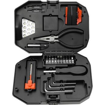 Built2Work Flashlight 22 Piece Tool Set   Hardgoods.ca