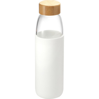 White - Kai Glass Bottle 18oz | Hardgoods.ca