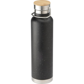 Black - Speckled Thor Copper Vacuum Insulated Bottle 22oz | Hardgoods.ca