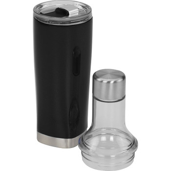 Black - Duo Copper Vacuum Bottle & Tumbler 22oz | Hardgoods.ca