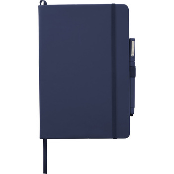 Navy - Vienna Large Hard Bound JournalBook | Hardgoods.ca