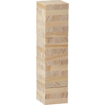 Tumbling Tower Wood Block Stacking Game | Hardgoods.ca