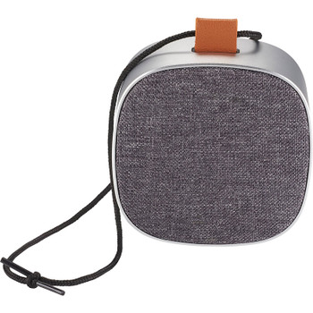 Tahoe Metal & Fabric Waterproof Bluetooth Speaker | Hardgoods.ca