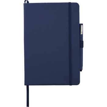 Navy - Vienna Large Hard Bound JournalBook Bundle Set | Hardgoods.ca