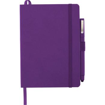 Purple - Firenze Soft Bound JournalBook Set | Hardgoods.ca
