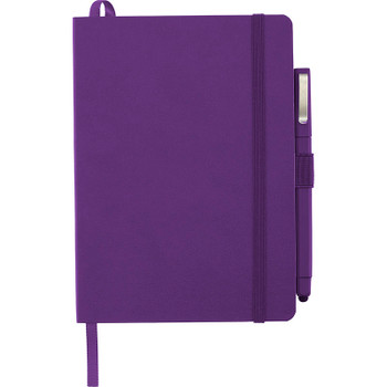 Purple - Firenze Soft Bound JournalBook Set | Hardgoods.ca