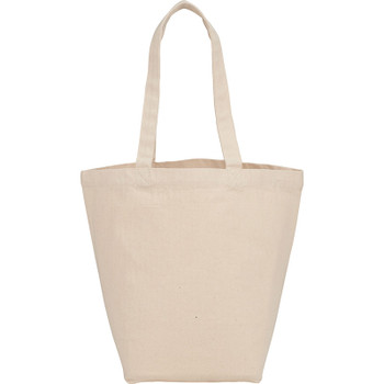 Herringbone 7oz Cotton Canvas Grocery Tote | Hardgoods.ca