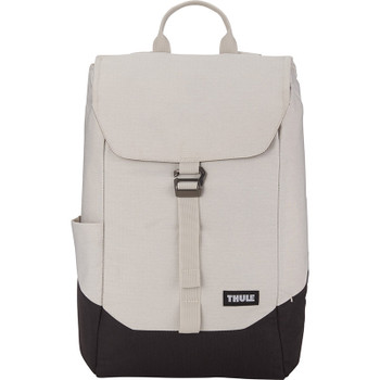 Concrete / Black - Thule Lithos 15'' Computer Backpack 16L | Hardgoods.ca