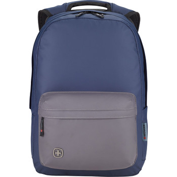 Navy/Gray - Wenger State 15'' Computer Backpack | Hardgoods.ca