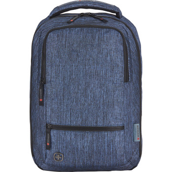 Navy - Wenger Meter 15 Laptop Backpack | Hardgoods.ca