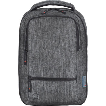 Charcoal - Wenger Meter 15 Laptop Backpack | Hardgoods.ca