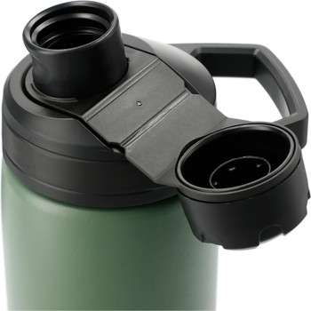 Moss Green - Cap, CamelBak Chute® Mag Copper VSS 20oz Water Bottle | Hardgoods.ca