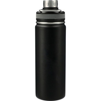 Black - Vasco Copper Vacuum Insulated Bottle 20oz | Hardgoods.ca