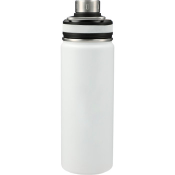 White - Vasco Copper Vacuum Insulated Bottle 20oz | Hardgoods.ca