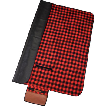 Red/ Black - Field & Co.® Buffalo Plaid Picnic Blanket | Hardgoods.ca
