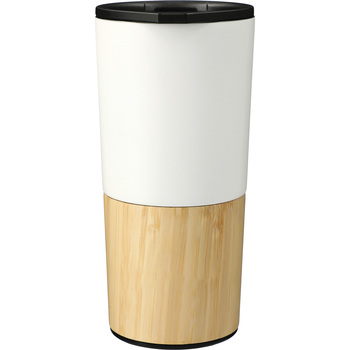 White - Welly® Voyager Copper Vacuum Tumbler 16oz | Hardgoods.ca