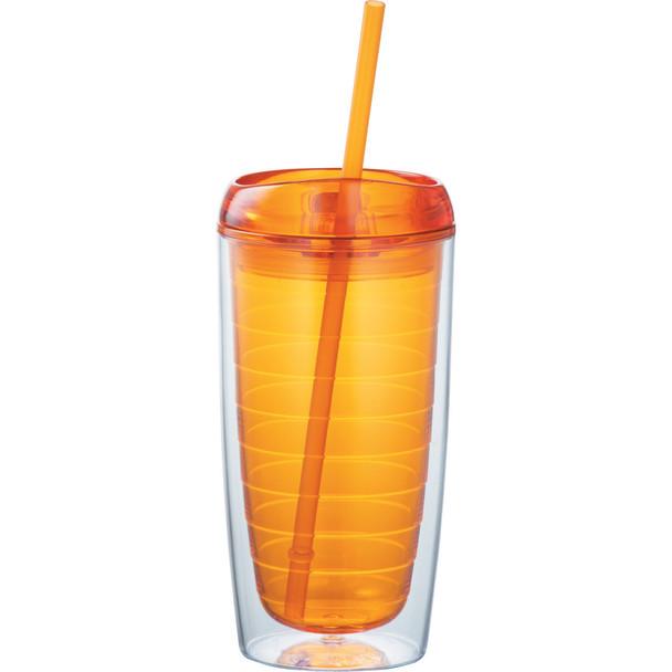 Orange - Vortex Tumbler 16oz | Hardgoods.ca