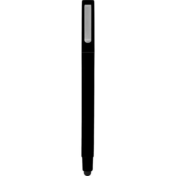 Black Ambassador Square Ballpoint Stylus Pen