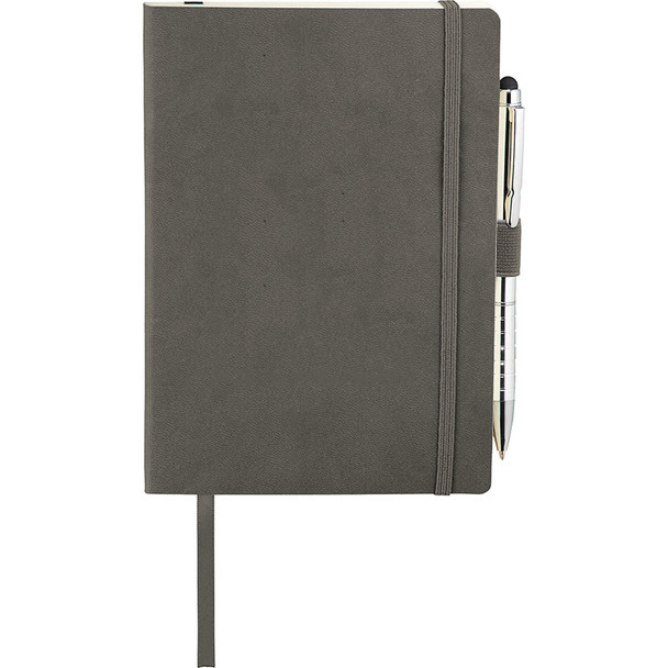 Gray - Revello Soft Bound JournalBook | Hardgoods.ca