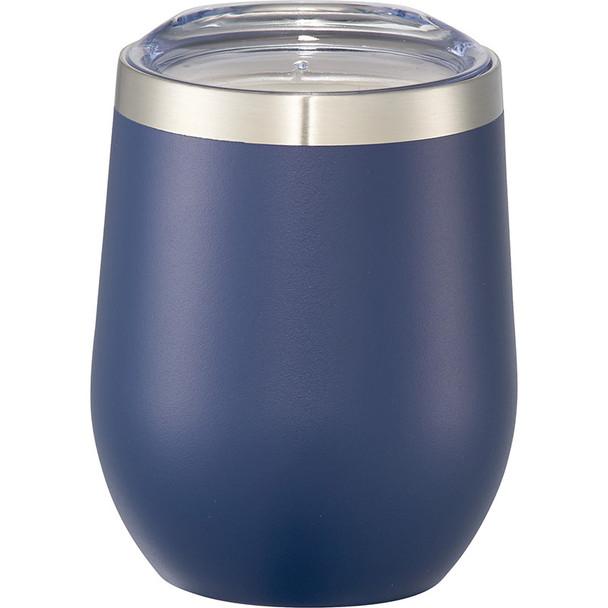 Navy - Corzo Copper Vacuum Insulated Cup 12oz | Hardgoods.ca